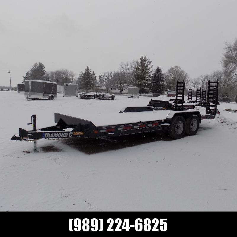 New Diamond C EQT 7' x 20' Equipment Trailer For Sale - $0 Down & Payments From $127/mo. W.A.C.