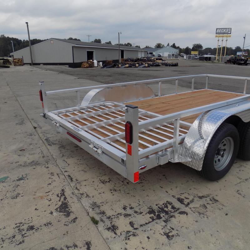 New Legend Aluminum 7' x 14' Open Utility Trailer - $0 Down & $121/mo. W.A.C.