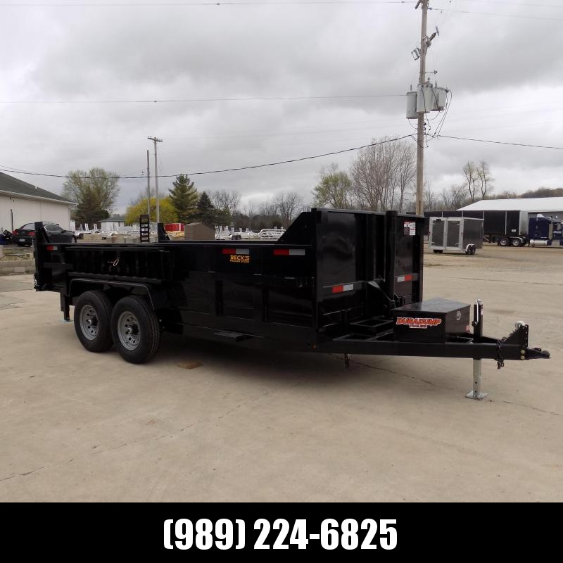 New DuraDump 7' x 16' Dump Trailer For Sale - $0 Down & Payments From $137/mo. W.A.C.