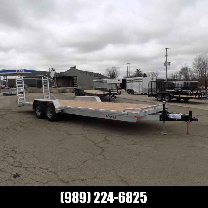 New Legend 7' x 24' Aluminum Equipment Trailer With 5200# Torsion Axles - $0 Down & Payments from $133/mo. W.A.C