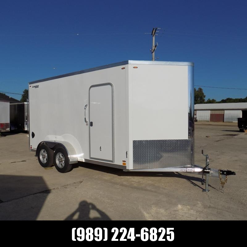 New Legend FTV 7' x 17' Aluminum Enclosed Cargo For Sale - $0 Down & Payments From $135/mo W.A.C.