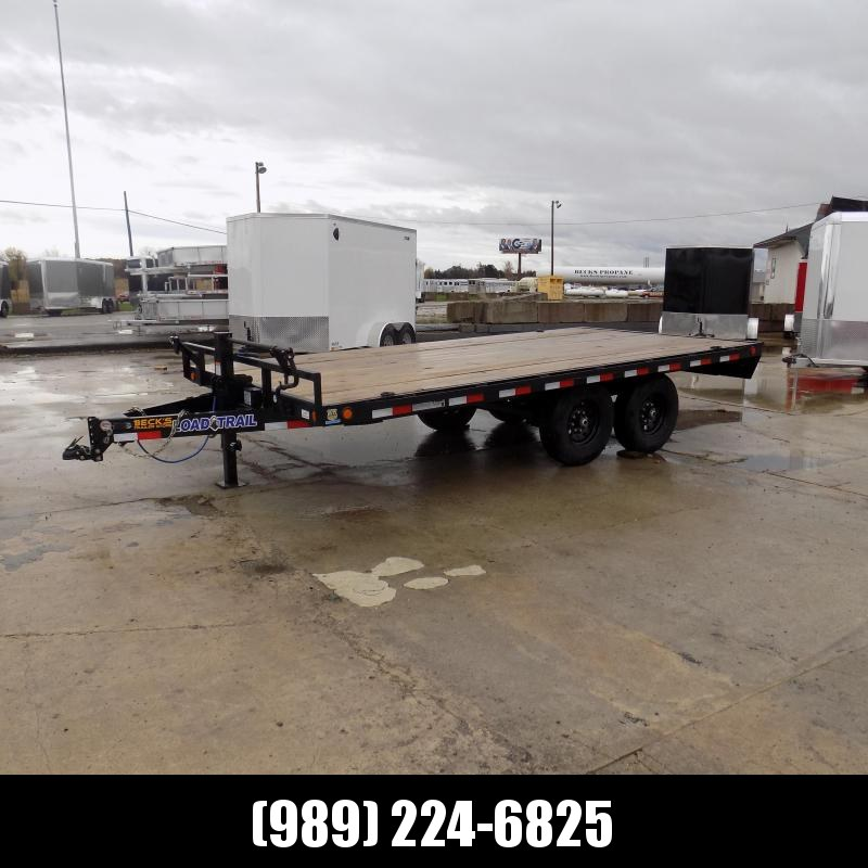 "New Load Trail DK14 102"" x 16' Deckover Trailer for Sale With 7K Axles- $0 Down & Payments From $109/mo. W.A.C."