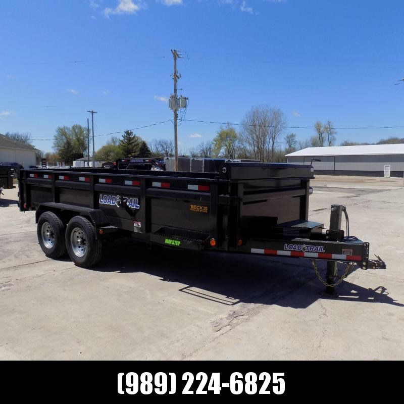 """New Load Trail 83"""" x 16' Dump Trailer for Sale - $0 Down & Payments from $155/mo. W.A.C."""