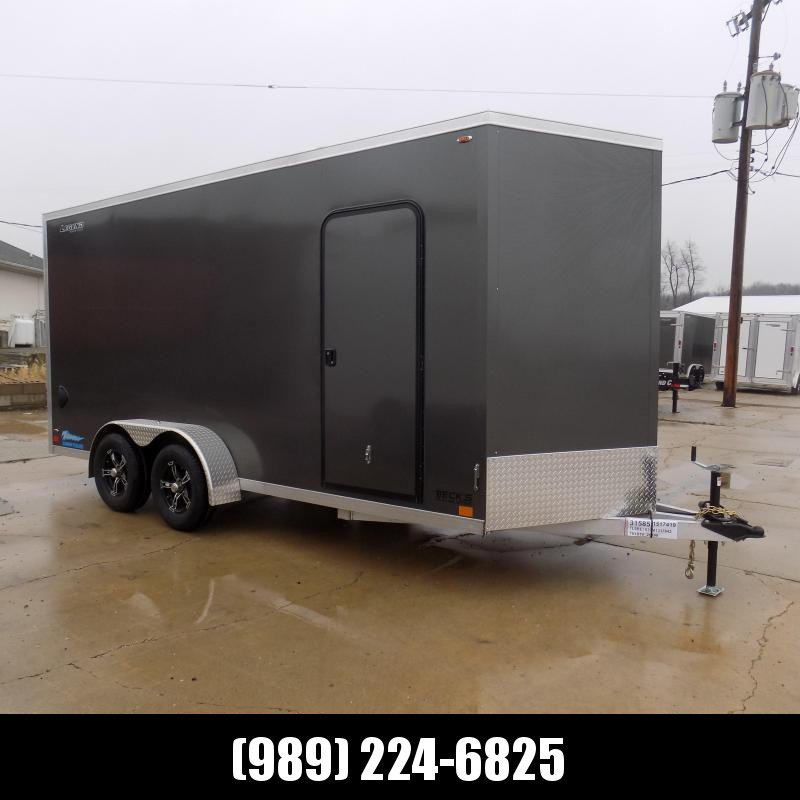 New Legend Thunder 7' X 18' Aluminum Enclosed Cargo Trailer For Sale - $0 Down Payments From $125/Mo W.A.C