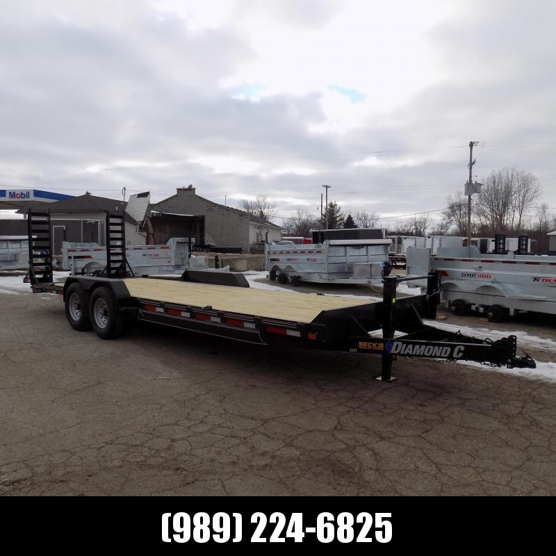 New Diamond C EQT 7' x 24' Equipment Trailer For Sale - $0 Down & Payments From $107/mo. W.A.C.