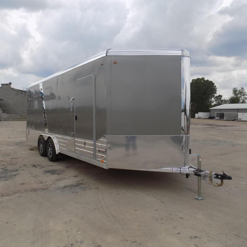 New Legend Deluxe V Nose 8' X 23' All Aluminum Cargo Trailer - Flexible Financing Options Available