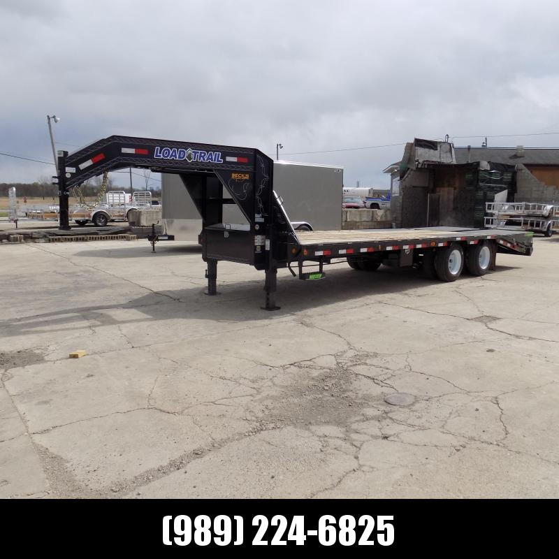 "New Load Trail 102"" x 25' Gooseneck Equipment Trailer With 12K Axles - Flexible $0 Down Financing Available"