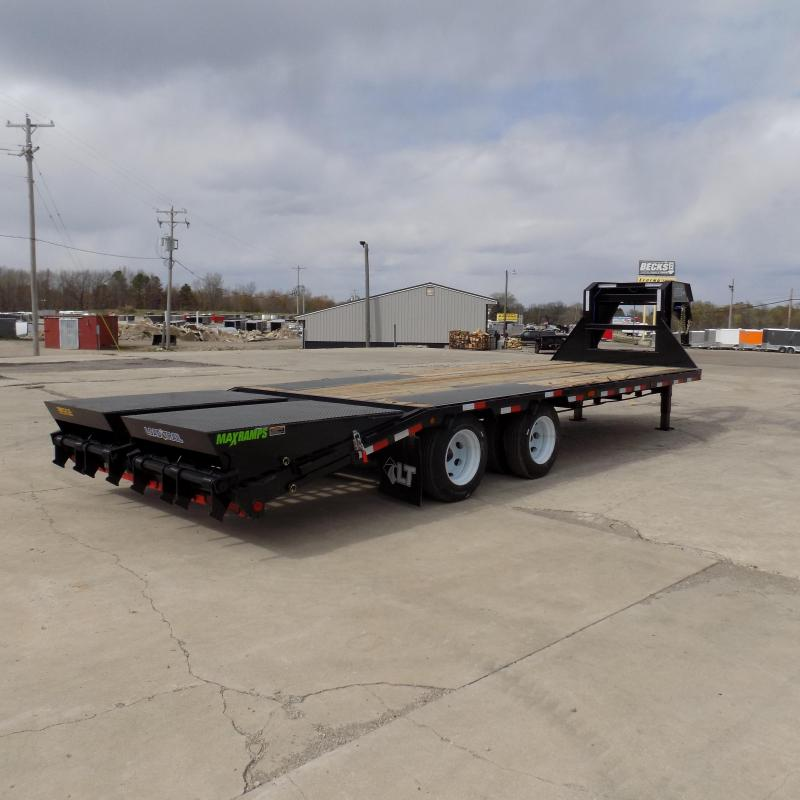 """New Load Trail 102"""" x 25' Gooseneck Equipment Trailer With 12K Axles - Flexible $0 Down Financing Available"""