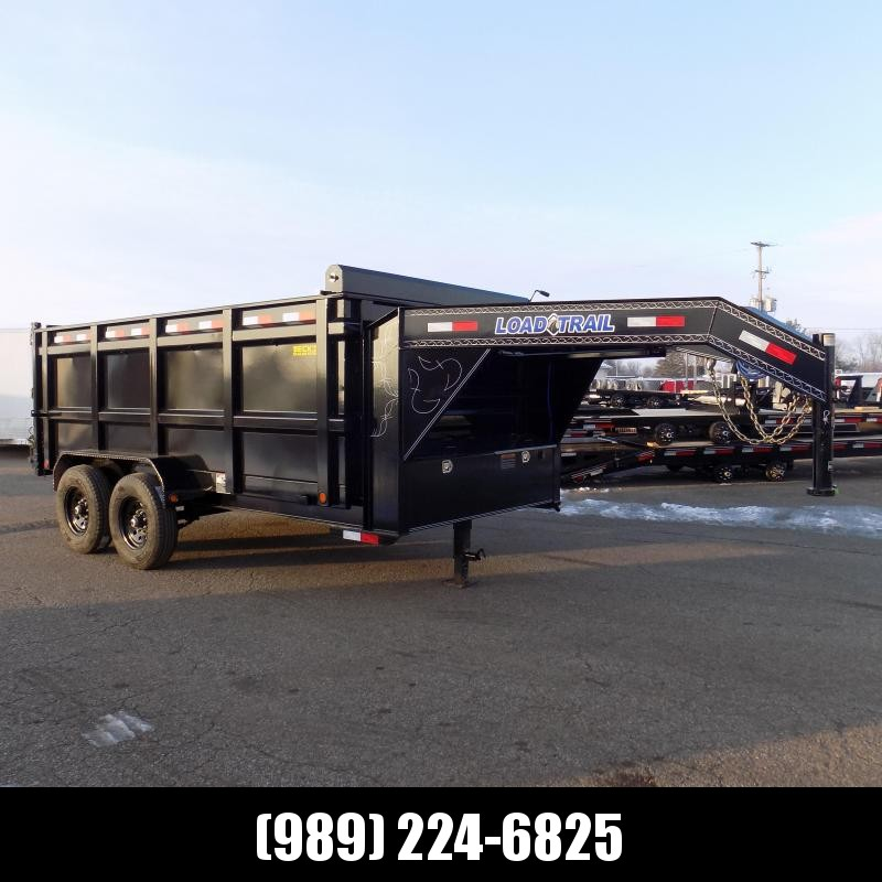 New Load Trail 7' x 14' Gooseneck Dump Trailer - $0 Down & Payments from $169/mo. W.A.C.