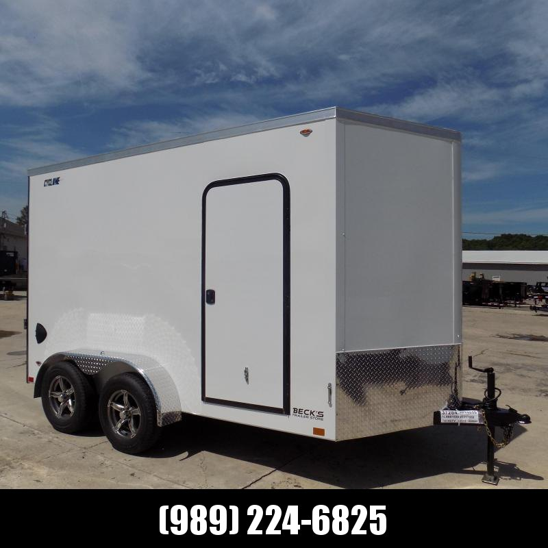 New Legend Cyclone 7' x 14' Enclosed Cargo Trailer for Sale - $0 Down Payments From $139/mo W.A.C.