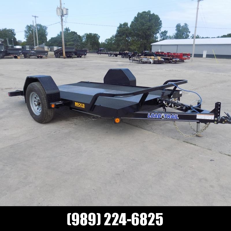 New Load Trail 77'' x 12' Scissor Lift Trailer -  $0 Down And Payments From $105/Mo W.A.C.