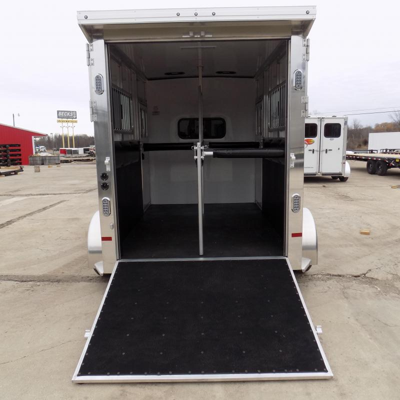 New Sundowner Trailers Charter TR Aluminum Straight Load 2 Horse Trailer w/ The New Extreme Package! $0 Down Financing Available.