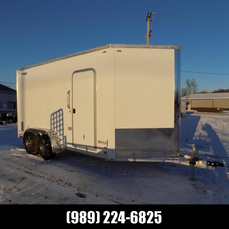 New Legend FTV 7' x 17' Aluminum Enclosed Cargo Trailer - Best Built Cargo Trailer - $0 Down & Payments From $135/mo. W.A.C.