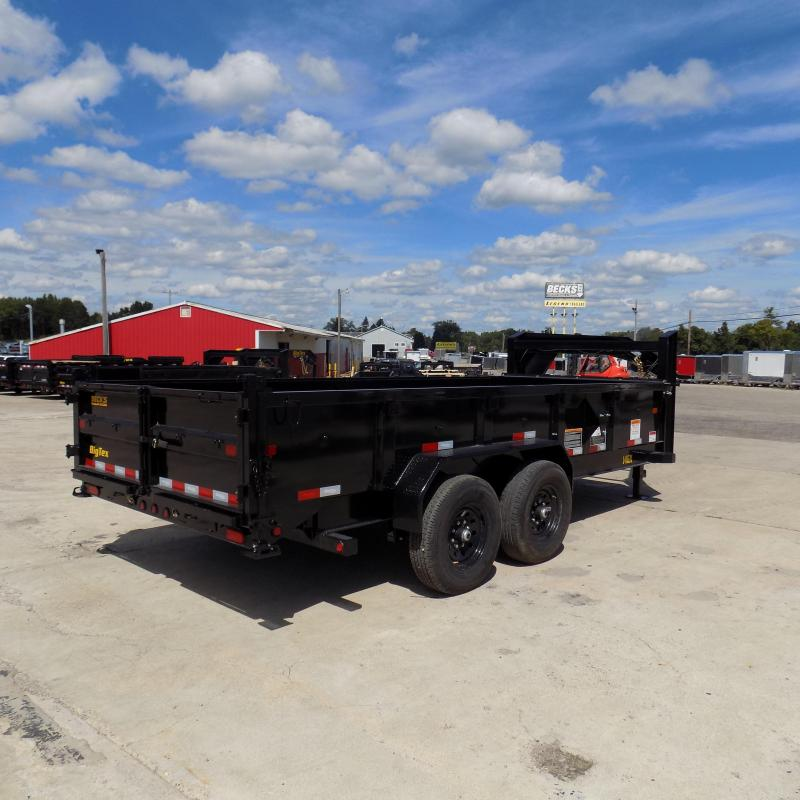 New Big Tex 7' x 16' Gooseneck Dump Trailer For Sale - $0 Down & $145/mo. W.A.C.