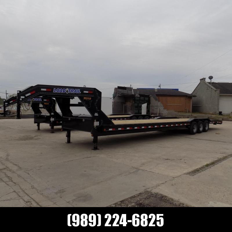 """New Load Trail 102"""" x 40' Gooseneck Car Hauler With Hydraulic Brakes - Flexible $0 Down Financing Available"""
