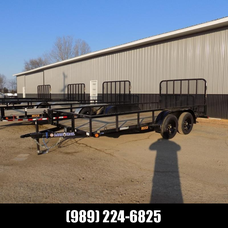 New Load Trail 7' x 16' Utility Trailer For Sale - $0 Down & Payments From $85/mo W.A.C.