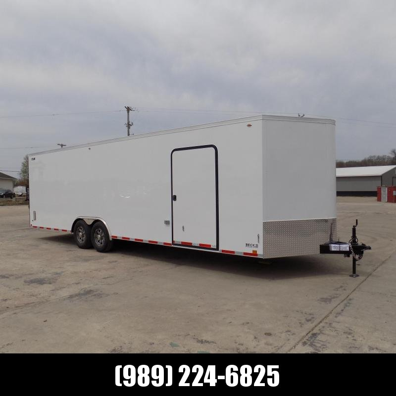 New Legend Trailers Legend Cyclone 8.5' x 30' Enclosed Car Hauler / Cargo Trailer With 7K Axles - $0 Down Financing Available