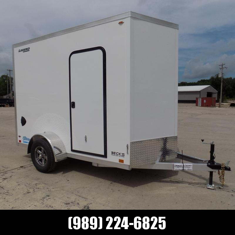 New Legend Thunder 6' x 11' Aluminum Enclosed Cargo Trailer for Sale- $0 Down Payments From $107/Mo W.A.C.