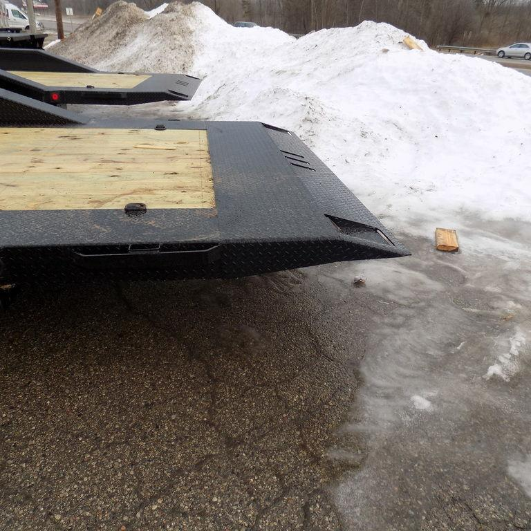 "New Iron Bull 102"" x 22' Tilt Deck Trailer - 8K Axles"