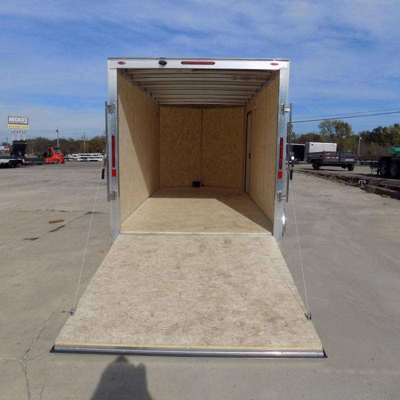 New Legend Thunder 7' x 16' Aluminum Enclosed Cargo Trailer for Sale- $0 Down Payments From $119/Mo W.A.C.