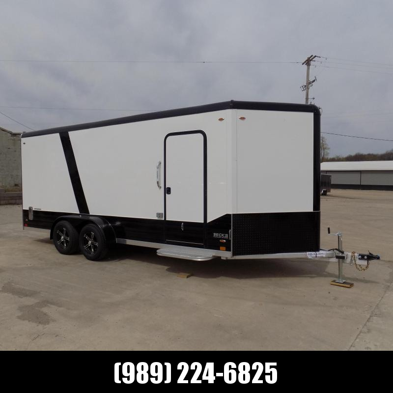 New Legend Deluxe V Nose 7' X 21' All Aluminum Cargo Trailer - LOADED! $0 Down Financing Available