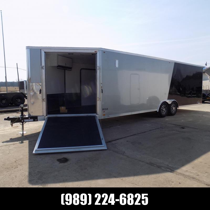 New Legend Trailmaster 8.5' x 32' Aluminum Enclosed Trailer - Perfect For UTVs-Snowmobile-Motorcycles & More - LOADED! $0 Down Financing Available