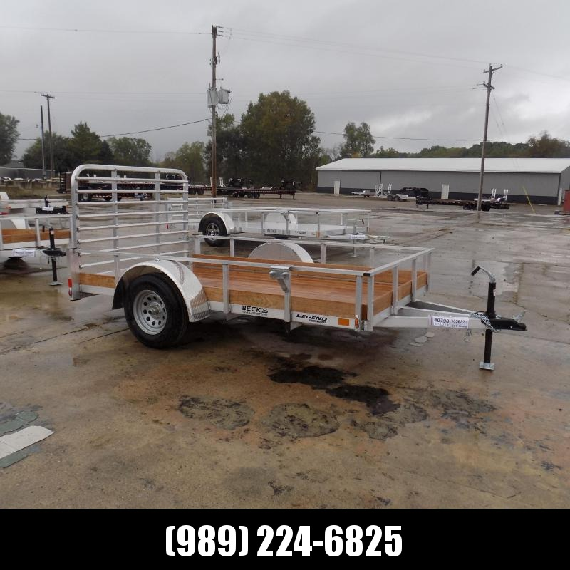 New Legend 6' x 10' Aluminum Utility Trailer For Sale - $0 Down & Payments From $75/mo. W.A.C.