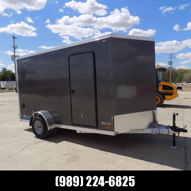 New Legend Thunder 7' x 14' Aluminum Enclosed Cargo For Sale - $0 Down Payments From $109/mo. W.A.C