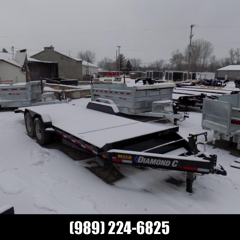 """New Diamond C Trailers 82"""" x 20' Tilt Deck Equipment Trailer - $0 Down & Payments from $135/mo. W.A.C."""