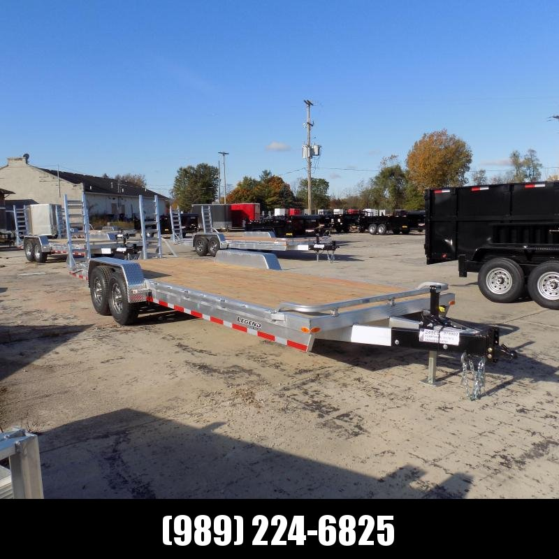 New Legend 7' x 24' Aluminum Equipment Trailer For Sale - Payment from $149/mo. w/ $0 Down W.A.C.