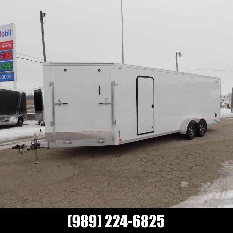 New Legend Thunder 7' x 27' Aluminum Snowmobile Trailer - $0 Down & Payments From $136/mo. W.A.C. - America's Largest Selection Of Snow Trailers