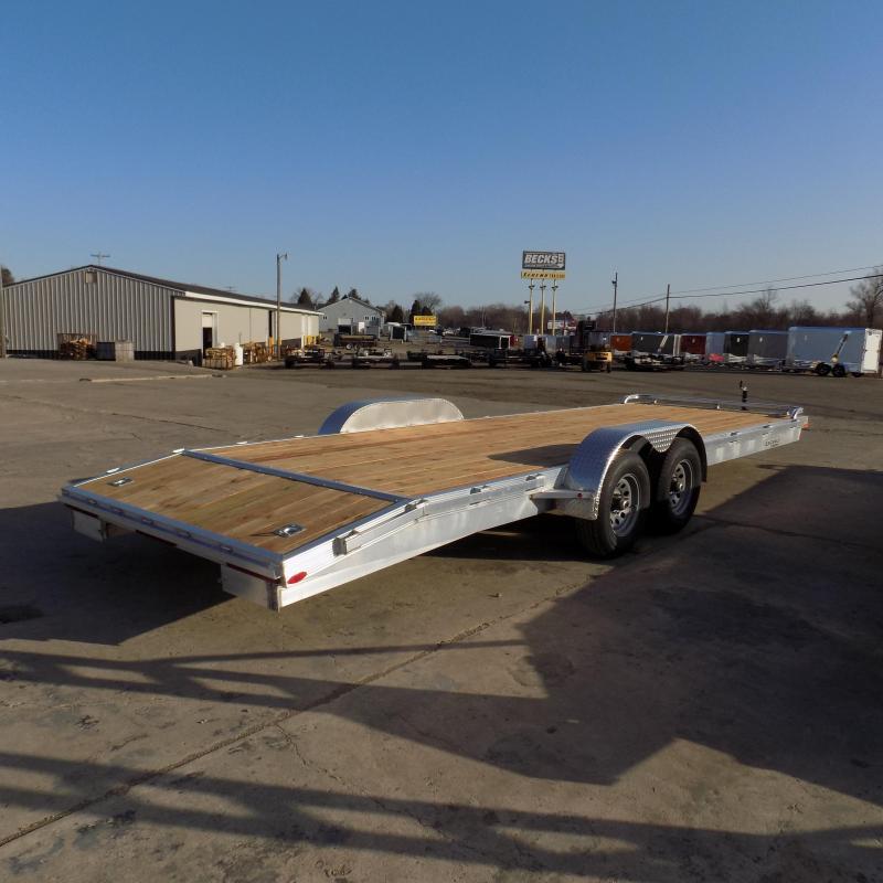 New Legend 7' x 24' Aluminum Open Car Hauler - 5200# Torsion Axles - $0 Down & Payments From $129/mo. W.A.C.