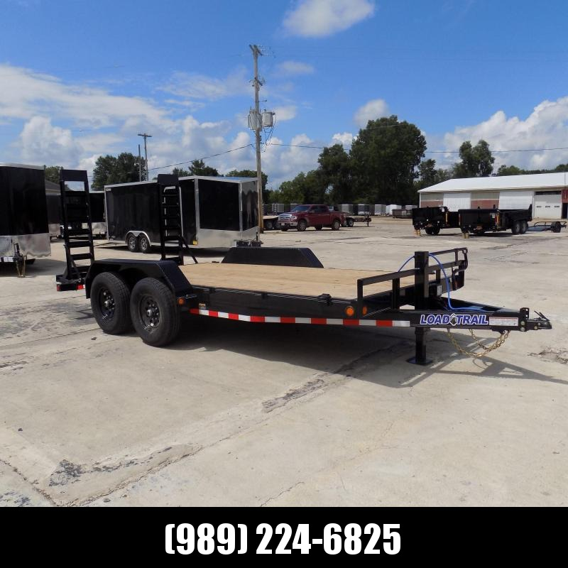 """New Load Trailer 83"""" x 16' Car Hauler Trailer For Sale With 7K Axles- $0 Down & Payments from $111/mo. W.A.C."""