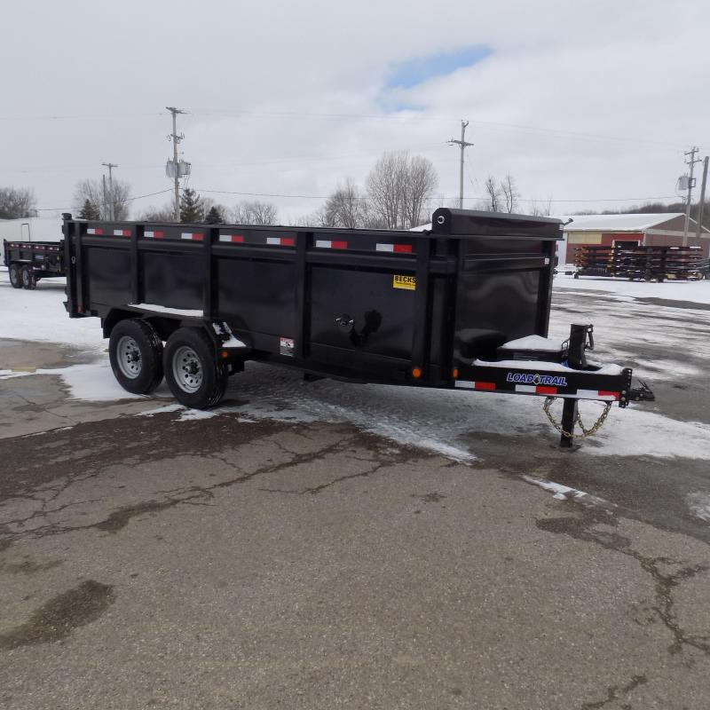 """New Load Trail 83"""" x 16' Dump With 36"""" Sides - $0 Down & Payments From $135/mo. W.A.C."""