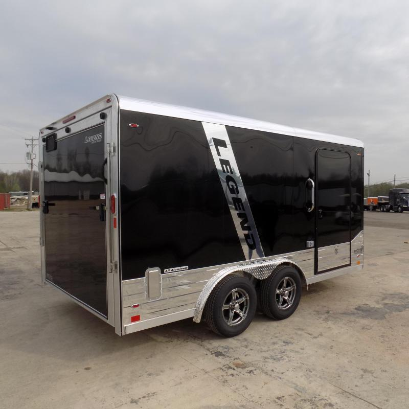 New Legend Deluxe V Nose 8' X 17' All Aluminum Cargo Trailer - $0 Down & Payments from $159/mo. W.A.C.