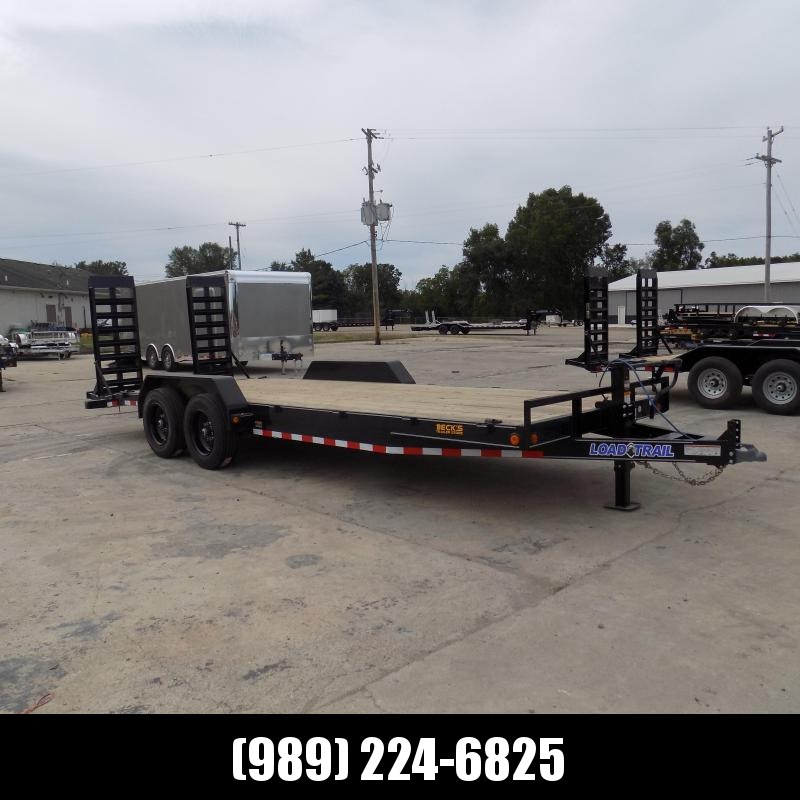 """New Load Trailer 83"""" x 22' Open Car Hauler/Equipment Trailer - $0 Down & Payments from $141/mo. W.A.C."""