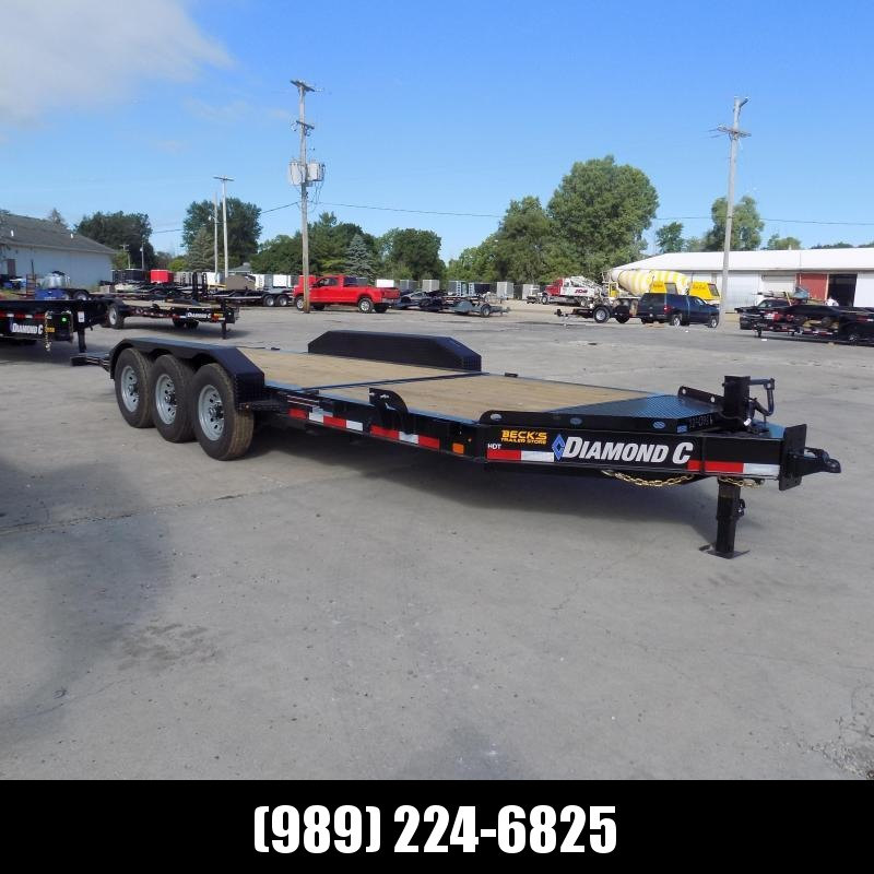 "New Diamond C Trailers 82"" x 22' Heavy-Duty Tilt Deck Equipment Trailer - Nearly 20K Payload Rating - $0 Down & Payments from $137/mo. W.A.C."