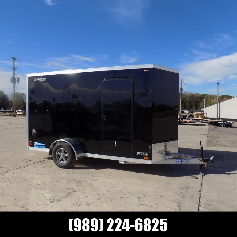 New Legend Thunder 6' x 13' Aluminum Enclosed Cargo Trailer for Sale- $0 Down Payments From $123/Mo W.A.C.