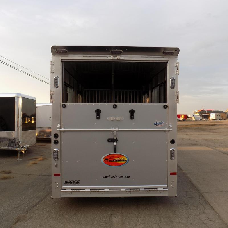 New Sundowner Trailers Charter 2+1 Strait Load Horse Trailer - Must See! $0 Down Financing Available