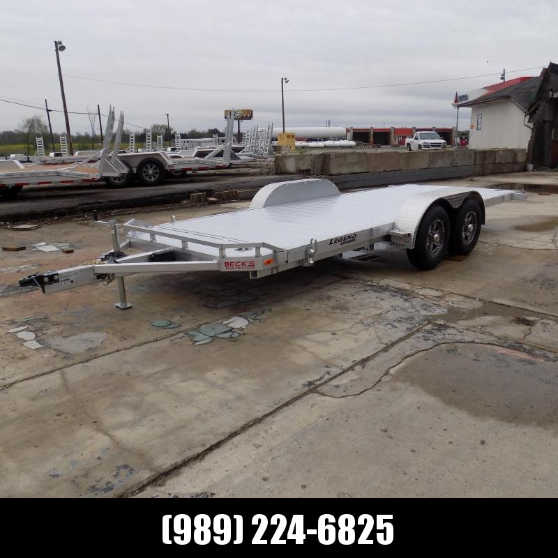 New Legend 7' x 20' Aluminum Tilt Deck Car Hauler - $0 Down & Payments From $135/mo. W.A.C.