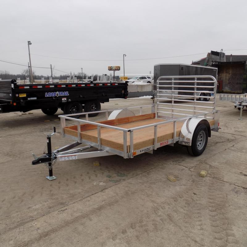 New Legend 6' x 10' Aluminum Utility Trailer- $0 Down Payment From $55/mo W.A.C