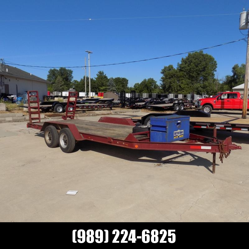 Used Hudson 7' x 16' Open Car Hauler For Sale
