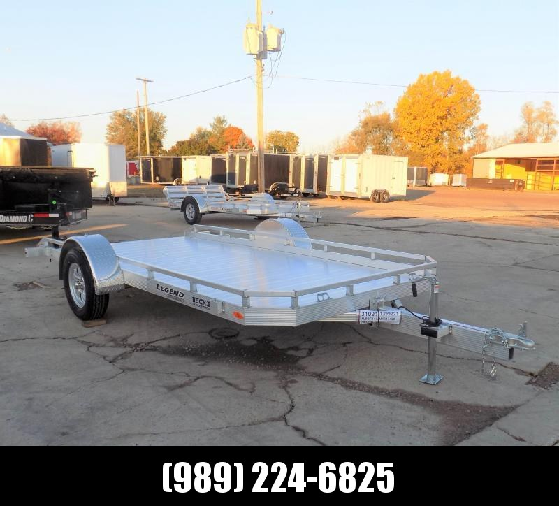 New Legend Open Tilt 7' x 14' Aluminum Utility Tilt - $0 Down & Payments From $89/mo. W.A.C.