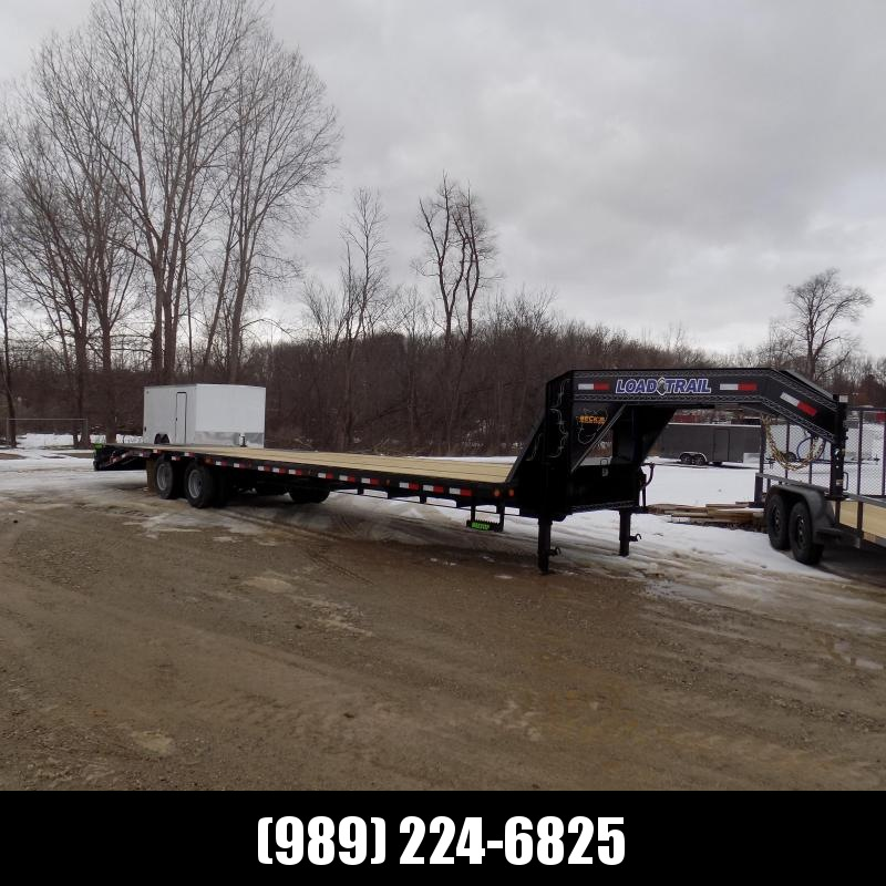 "New Load Trail 102"" x 36' Low Profile Gooseneck Equipment Trailer - $o Down & $189/mo. W.A.C."