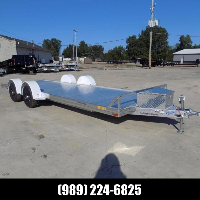 """2022 Sundowner Trailers 81"""" X 22' Open Car Hauler Trailer For Sale - $0 Down with $125/mo Payments W.A.C"""
