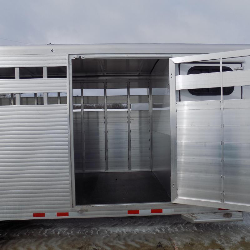 New Sundowner Trailers 20' Aluminum Gooseneck Stock Trailer With Tack Room - $0 Down Financing Available