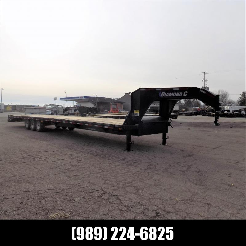 """New Diamond C Trailers 102"""" x 40' Gooseneck Equipment Trailer With 24K Weight Rating - $0 Down Financing Available"""