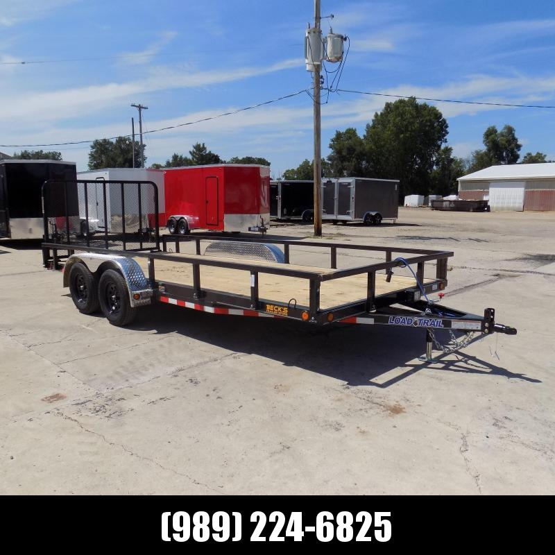 "New Load Trail 83"" x 18' Utility/Landscape Trailer For Sale - $0 Down & Payments From $85/mo W.A.C."