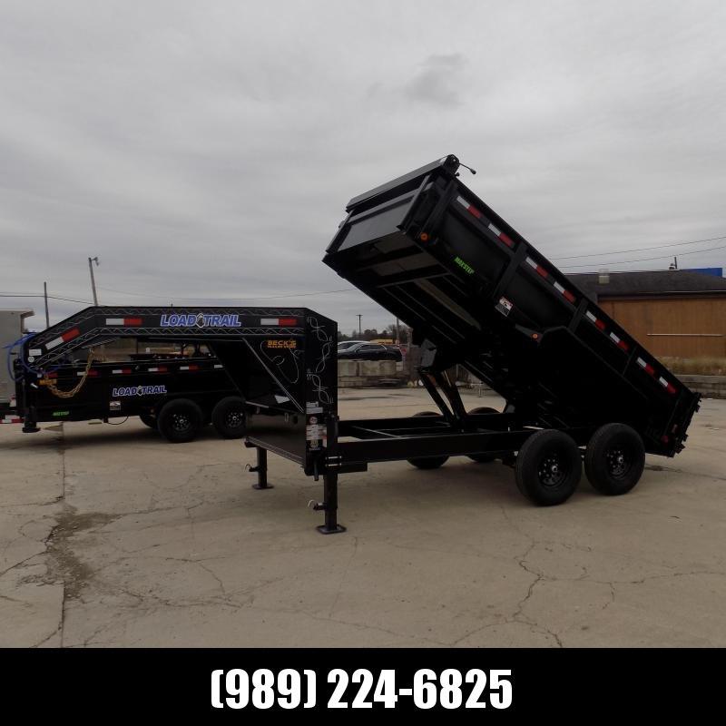 New Load Trail 7' x 14' Gooseneck Dump Trailer - $0 Down & Flexible Financing Available
