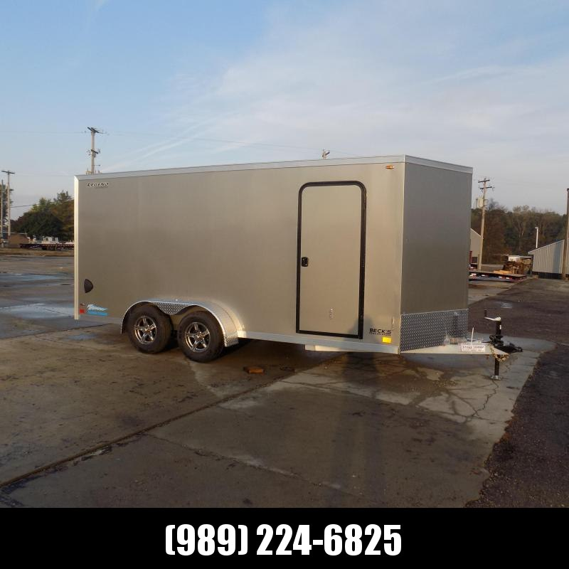 New Legend Thunder 7' x 18' Aluminum Enclosed Cargo Trailer for Sale- $0 Down Payments From $135/Mo W.A.C.